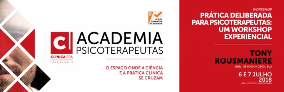 Academia Psicoterapeutas - Workshop Tony Rousmaniere