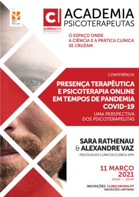 Presença terapêutica e psicoterapia online em tempos de pandemia covid-19: uma perspectiva dos psicoterapeutas